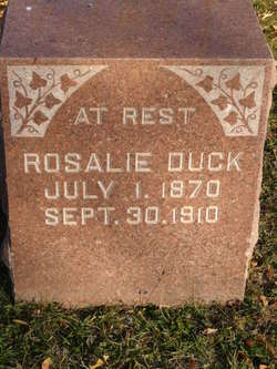 "Rosa Lee ""Rosalie"" Duck"