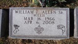 """William Frederick """"Willie"""" Allen, Sr"""