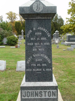 John A Johnston