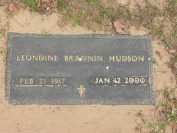 Leondine Loraine <I>Brannin</I> Hudson