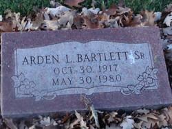 Arden L Bartlett, Sr