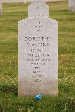 Dorothy <I>Malone</I> Jones
