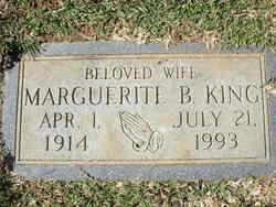 Clara Marguerite <I>Broom</I> King