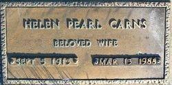 Helen Pearl <I>Holt</I> Carns