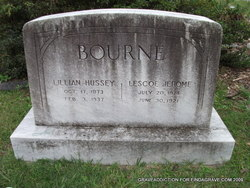 Lillian <I>Hussey</I> Bourne