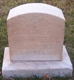 """Paulonia """"Pauline"""" Lessar"""