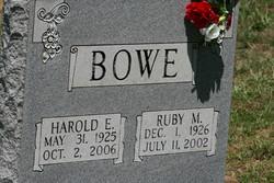 Ruby <I>Shafer</I> Bowe