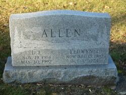 """Eldwyn Leroy """"Al"""" Allen"""