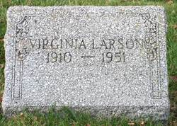 Virginia Gertrude <I>Leach</I> Larson