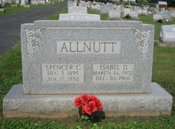 Isabel D. <I>Bogley</I> Allnutt