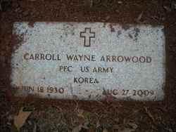 Carroll Wayne Arrowood
