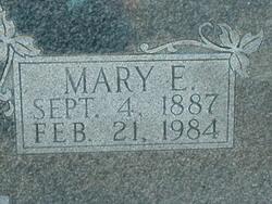 Mary Elizabeth <I>Cansler</I> Brown