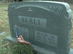 Bessie Marie <I>Burke</I> Beall