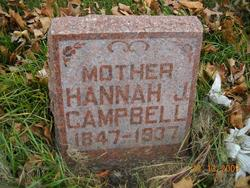 Hannah Jane <I>Robertson</I> Campbell