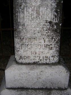 "Milbrey Polly ""Milly"" <I>Helms</I> Richbourg"