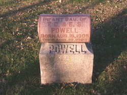 Infant Daughter Powell