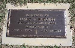 SGT James A Burgess