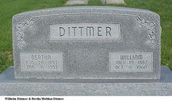 Bertha <I>Molthan</I> Dittmer