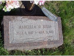 Marcella Doris <I>Weber</I> Bulin