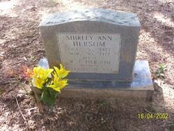Shirley Ann <I>Summerhays</I> Hersom