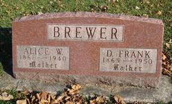 Alice <I>Curry</I> Brewer