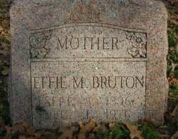 Effie Mae <I>Massey</I> Bruton