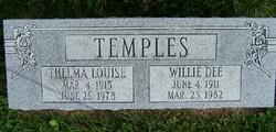 Thelma Louise <I>Fislar</I> Temples