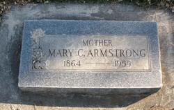 """Mary Catherine """"Molly"""" <I>Martin</I> Armstrong"""