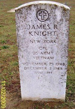 "Corp James Roy ""J.R."" Knight"