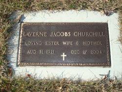 Laverne <I>Jacobs</I> Churchill