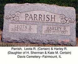 Leota R <I>Certain</I> Parrish