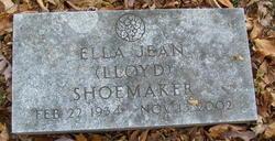 Ella Jean <I>Lloyd</I> Shoemaker