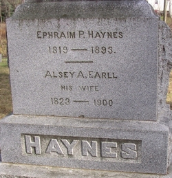 Alsey Ann <I>Earle</I> Haynes