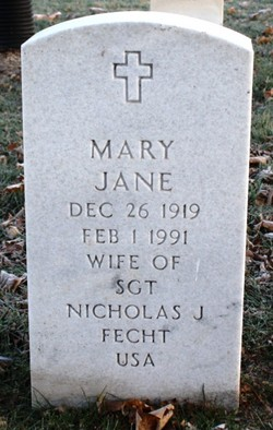 Mary Jane Fecht