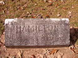 Athanire Frances <I>Mouser</I> Hamilton