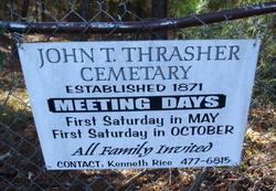 John T. Thrasher Cemetery
