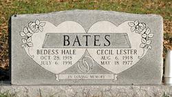 Bedess <I>Hale</I> Bates