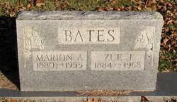 "Missouri Jane ""Zue"" <I>Smith</I> Bates"