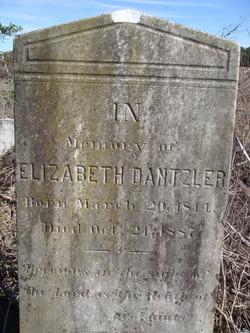 Elizabeth <I>Shuler</I> Dantzler