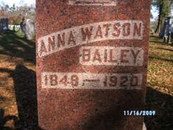 Anna <I>Watson</I> Bailey