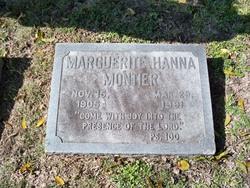 Marguerite Bernice <I>Hanna</I> Montier
