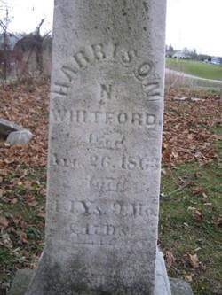 Harrison N Whitford
