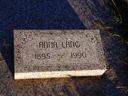 Anna Sophia <I>Litschke</I> Lang