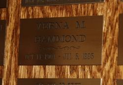 Verna Marie <I>Rhodes</I> Hammond