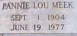Fannie Lou Meek