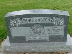 Joan Leslie <I>Nunley</I> Worthington