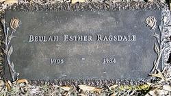 Beulah Esther Ragsdale