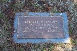Everett W. Snyder