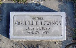 Lillie <I>Bass</I> Lewings