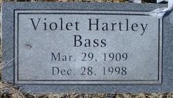 Violet <I>Hartley</I> Bass